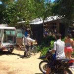 Electrocutado muere hondureño que podaba un árbol sobre tendido eléctrico