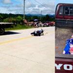Padre e hija de dos años mueren en accidente de motocicleta en Intibucá