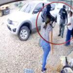 VIDEO: Comando de sicarios mata a quemarropa a pareja en Olancho